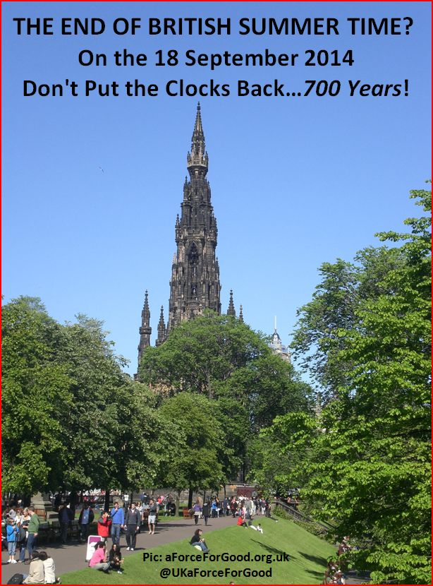Don't Put the Clocks Back 700 Years