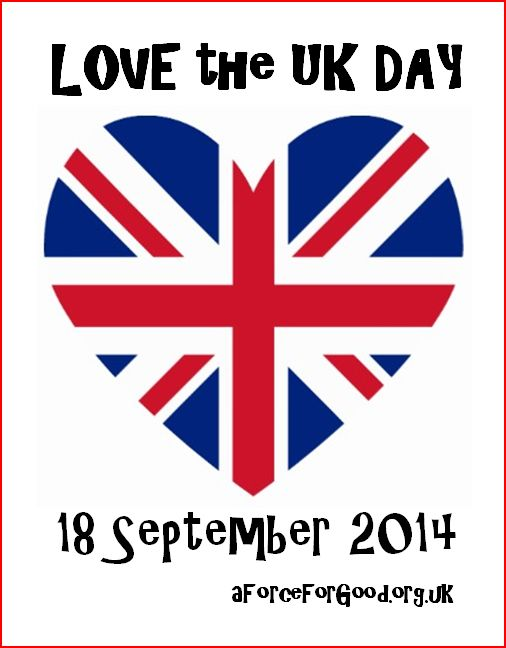 Love the UK Day, 18 September 2014