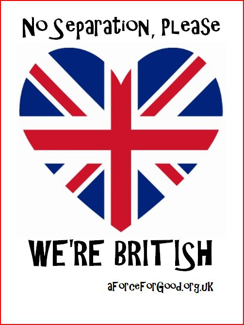 No Separation, Please. We're British